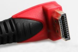 Vinklad HDMI-kabel